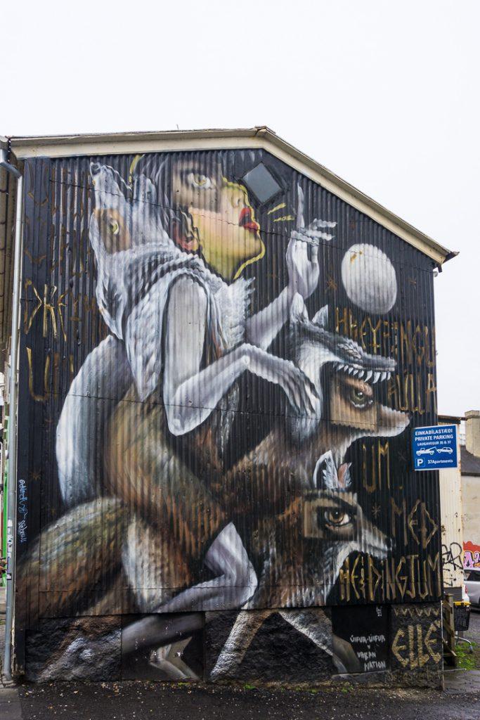 Исландский стрит-арт