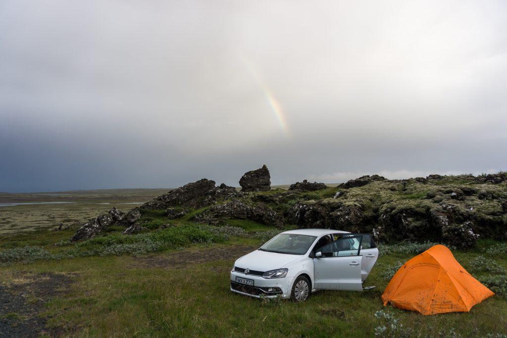 Ночевка под радугой