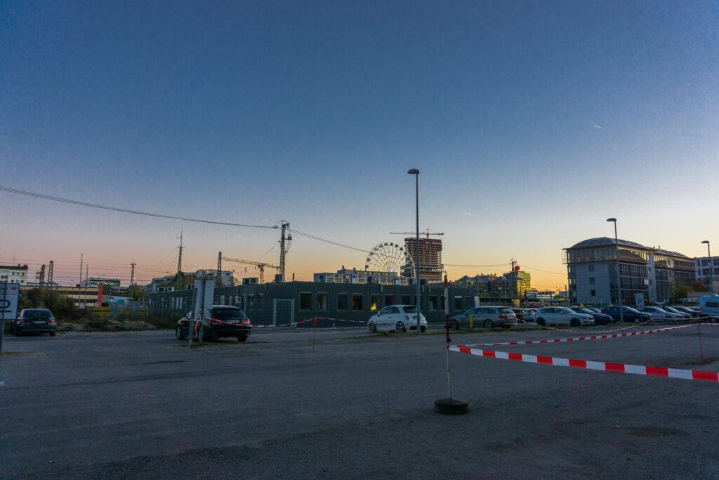 Панорама рядом с Ostbahnhof