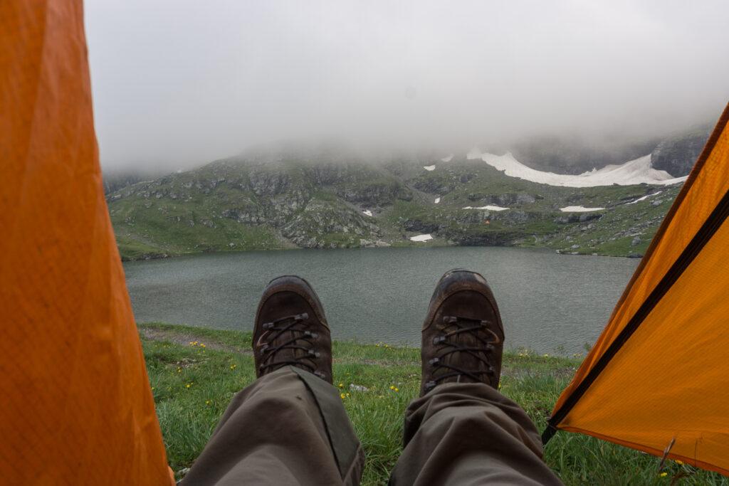 Вечер в палатке